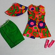 Vintage Mattel Barbie Outfit, Bermuda Holidays, 1967