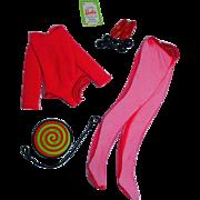 Vintage Mattel Barbie Outfit, Shape Ups, 1970, Mint& Complete!