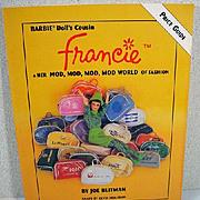 Francie and her MOD, MOD, MOD, WORLD of Fashion, Book by Joe Blitman, OP!
