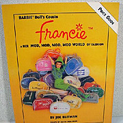 Francie and her MOD, MOD, MOD, WORLD of Fashion, Book by Joe Blitman, OP!