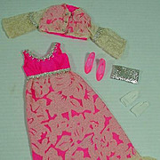 Vintage Mattel Francie Outfit, Altogether Elegant, 1970