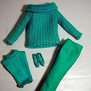 Vintage Mattel Barbie Outfit, Photo Fashion, 1965, Complete!