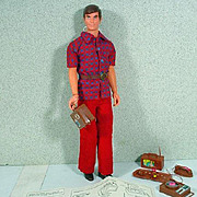 Mattel Talking Busy Ken, 1972, Talks!!