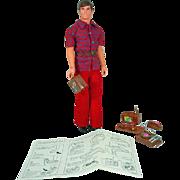Mattel Talking Busy Ken, 1972, Talks!!