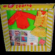 NRFB Tutti&Chris (Barbi'es Tiny Sister), Rain Coat, 1975, Mattel