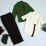 Vintage Mattel Ken Outfit, College Student, 1965, Rare!