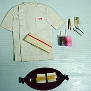 Vintage Mattel Ken Outfit, Fountain Boy, Complete, 1964