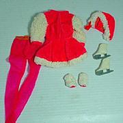 VIntage Mattel Barbie Outfit, Skate Mates, 1970