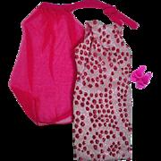 Vintage Barbie Outfit, Pink Sparkle, Complete, 1967
