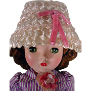 Vintage Madame Alexander Cissy Doll in Oriignal Outfit, 1957