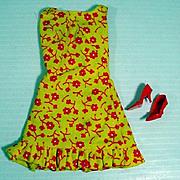 Vintage Mattel Barbie Outfit, Sun-Shiner, 1969