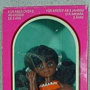 NRFB Mattel Carla Doll, Tutti's Friend, 1976
