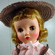 Vintage Madame Alexander Elise Doll in Tagged Outfit, 1957