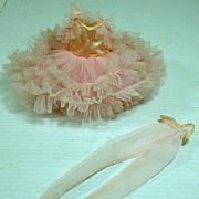 Vintage Madame Alexander Cissette Ballet Costume, 1962