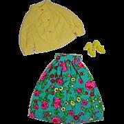 Vintage Mattel Barbie Outfit, Midi Mood, 1971