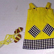 Vintage Mattel Francie Outfit, Cool It, 1968!