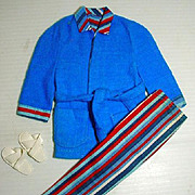 Vintage Mattel Ken Outfit, Wide Awake Stripes, 1972