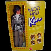 NRFB Mod Hair Ken, 1973 Mattel