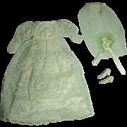 Mattel Vintage Francie Outfit, Victorian Wedding, 1969