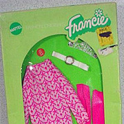 NRFB  Mattel Francie Outfit, Little Knits, 1972