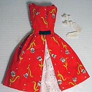 Vintage Mattel Barbie Outfit, Garden Tea Party, 1964