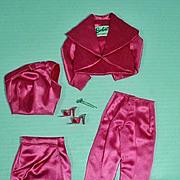 Matel Vintage Barbie Outfit, Satin 'n Rose, 1964