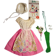 Vintage Mattel Barbie Outfit, In Switzerland, 1964, Complete