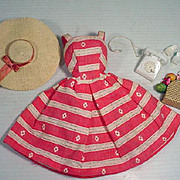 Vintage Mattel Barbie Outfit, Busy Morning, Complete, 1963