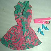 Vintage Barbie Outfit, Ruffles N' Swirls, Mattel 1970
