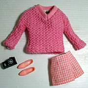Vintage Mattel Barbie Outfit, Vacation Time, 1965