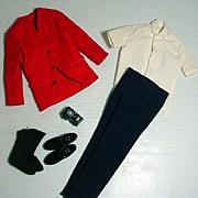 Vintage Mattel Ken Outfit, Rovin' Reporter, 1965