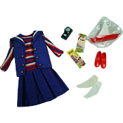 Vintage Mattel Skipper Outfit, Ship Ahoy, 1965
