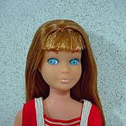 Rare Mattel 1970 Re-issue Skipper Doll