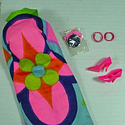 Vintage Mattel Barbie Outfit, Sunflower, Complete, 1967!