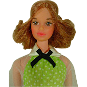 Vintage Mattel Quick Curl Kelley Doll, 1973