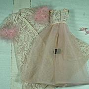 Vintage Mattel Barbie Outfit, Pink Moonbeams, 1967