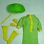 Vintage Mattel Barbie Outfit, Snap-Dash, 1968