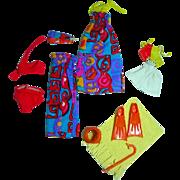 Vintage Mattel Skipper Get Ups 'n Go Outfit, 1974