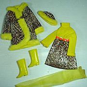 Vintage Mattel Francie Outfit, Snake Charmer, 1970
