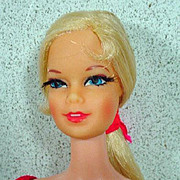 Vintage Mattel Blond TNT Stacey Doll, 1968