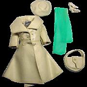 Vintage Barbie Outfit, London Tour, Mattel 1966