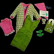 Vintage Mattel Barbie Outfit, Poodle Parade, 1965