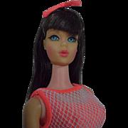 Vintage Mattel TNT Barbie w/ Dark Brunette Hair, 1967