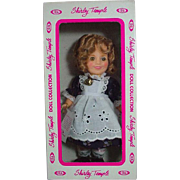 "Ideal 8"" Shirley Temple Vinyl Doll, MIB, 1982"
