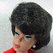 Vintage Mattel Brunette Barbie Bubble Cut, 1963