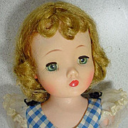 Vintage Madame Alexander Cissy Doll in Day Dress, 1950's