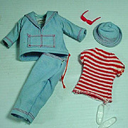 Vintage Mattel Skipper Outfit, Land & Sea, 1966