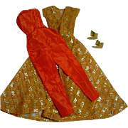 Vintage Mattel Barbie Outfit, Dinner At Eight, 1963