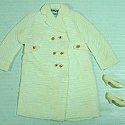 Vintage Mattel Francie Outfit, Note The Coat, 1967