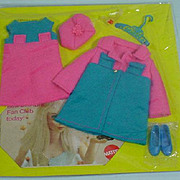 MOC Mattel Skipper Outfit, Twice As Nice, 1970